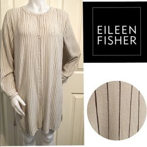 Eileen Fisher, Striped Tunic Top